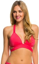 Kenneth Cole Strappy Hour Wrap Push Up Halter Bikini Top 8139289