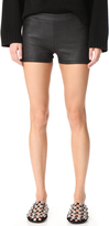Gareth Pugh Leather Shorts
