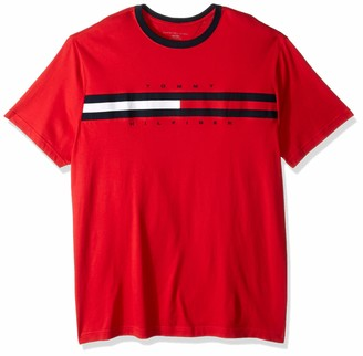 Tommy Hilfiger Men's Size Big and Tall Logo T Shirt