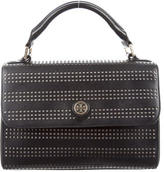 Tory Burch Robinson Perforated Satchel
