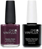 CND Creative Nail Design Vinylux Fedora Nail Polish & Top Coat (Two Items), 0.5-oz, from Purebeauty Salon & Spa