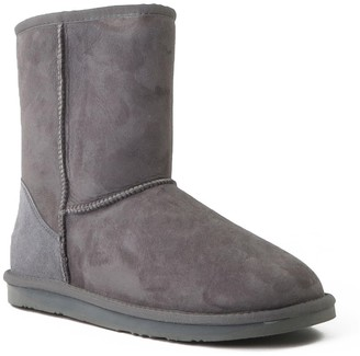 Australia Luxe Collective Cosy Short Genuine Shearling Lined Suede Boot