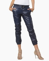 Juicy Couture Leather Track Pant
