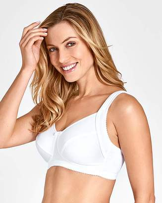Miss Mary Of Sweden Miss Mary Smoothing NonWired White Bra
