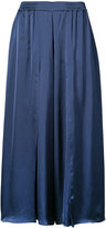 Just Female wide-leg cropped trousers - women - Viscose - S