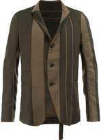 Masnada striped panel blazer