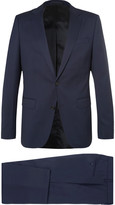 Hugo Boss - Navy Nestro Byte Slim-fit Wool-blend Twill Travel Suit