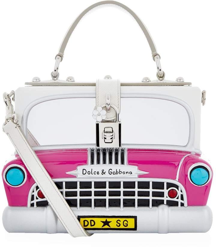 Dolce & Gabbana Car Padlock Top Handle Bag