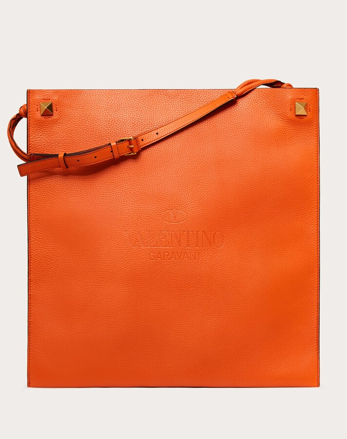 Thumbnail for your product : Valentino Garavani Uomo Valentino Garavani Identity Leather Tote Bag Man Fondant 100% Pelle Di Vitello - Bos Taurus OneSize