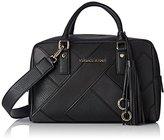 Versace Ee1vqbbk2_e75428, Women's Top-Handle Bag, Nero, 14x18x31,5 cm (W x H L)