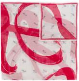 Loewe hello printed scarf