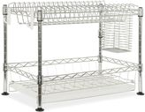 Safavieh Darina Adjustable Chrome Wire Dish Rack in Chrome