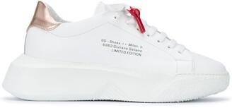 Giuliano Galiano Nemesis lace-up sneakers