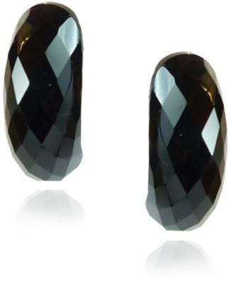 Mounir London Half Moon Earrings