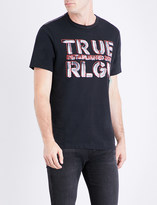 True Religion Graphic logo-print cotton-jersey T-shirt