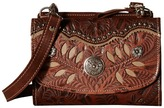 American West Woodland Bloom Crossbody/Wallet