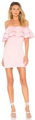 superdown Rhiannon Tiered Mini Dress