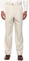 Perry Ellis Portfolio Classic Fit Double Pleat Micro-Melange Pant