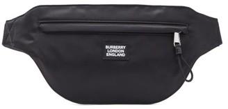 Burberry Brummell Logo-patch Technical Cross-body Bag - Black