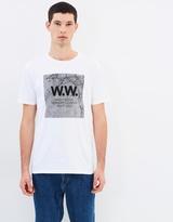 Wood Wood Concrete Square T-Shirt