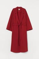 H&M H&M+ Long Coat - Red