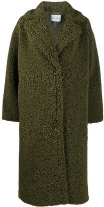 Stand Studio Faux Shearling Oversize Coat