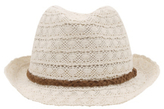 George Lace Trilby Hat