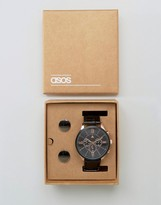 Asos Watch And Cufflink Set