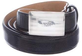 Tiffany & Co. Lizard Dress Belt