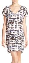 Charlie Jade Geometric Print Shift Dress
