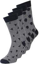 Jack & Jones Jactable 4 Pack Socks Navy Blazer