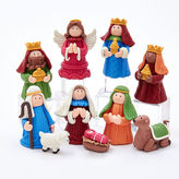 Kurt Adler 2.5 Claydough Nativity (Set of 10)