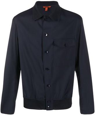 Barena Chest Pocket Elasticated Hem Shirt Jacket