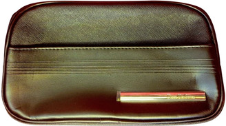 Christian Dior Black Leather Small bags, wallets & cases