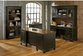 kathy ireland Home by Martin Furniture Hartford 5 Piece Standard Desk Office Suite