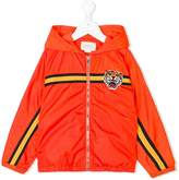 Gucci Kids Tiger patch bomber jacket