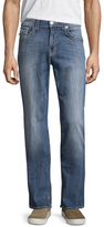 True Religion Flap Big T Straight Fit Jeans