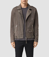 AllSaints Niko Leather Biker Jacket