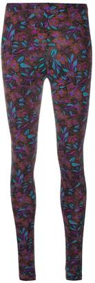 La DoubleJ Floral Print Stretch Leggings