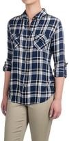 Jachs NY Hailey Boyfriend Shirt - Rayon, Long Sleeve (For Women)