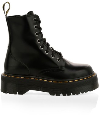 Dr. Martens Jadon Leather Combat Boots