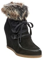 Merona Women's Jaden Wedge Lace Up Boots