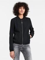 Calvin Klein Jeans Sateen Bomber Jacket
