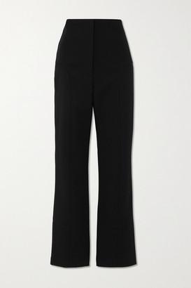 PARIS GEORGIA Paneled Crepe Bootcut Pants - Black