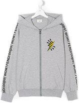 Fendi teen lightening bolt hoodie