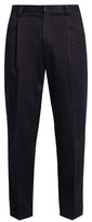 Acne Studios Abram Slim-leg Cotton-blend Trousers
