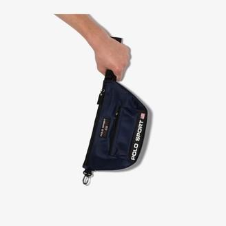 Polo Ralph Lauren Navy sport logo cross body bag