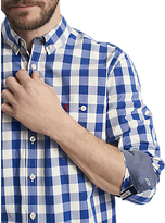 Joules Hewney Gingham Classic Fit Shirt, Buckingham Blue