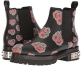 Alexander McQueen Poppy Printed Chelsea Boot Women's Dress Flat Shoes
