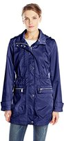 Anne Klein Women's Hooded Anorak Jacket